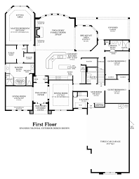 Home Floor Plan by Coastal Oaks At Nocatee Estate U0026 Signature Collections The