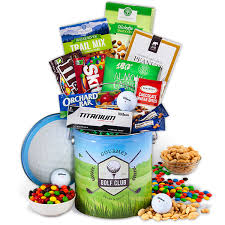 fathers day gift basket in one s day golf gift by gourmetgiftbaskets