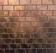 copper tiles for kitchen backsplash kitchen backsplash design metal copper tiles for kitchen