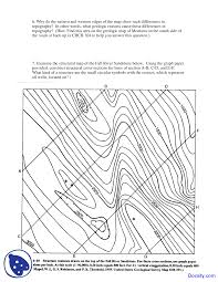 Montana On The Map by Introductory Map Exercise Field Geology Lecture Notes