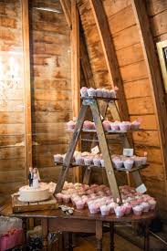 i like the smaller ladder on a rustic table too could really