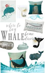 where to buy coastal beach whale decor
