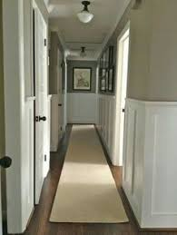 if you paint one side of the hallway a different darker color