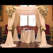 chuppah canopy 3m 3m 3m white color square canopy drape chuppah arbor drape swag