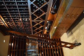 Wine Cellar Shelves - custom wine cellars la jolla contemporary design san diego