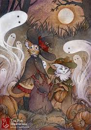 happy halloween art pinterest happy halloween illustrators