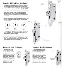 Patio Door Mortise Lock Replacement Mortise Sliding Glass Door Lock Selecting Patio Door Parts Your