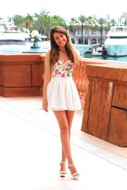 cute spring summer floral bustier lace skirt fashion hotbox