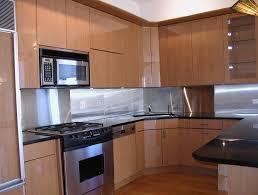 kitchens with stainless steel backsplash kitchen design 20 photos most popular stainless steel backsplash