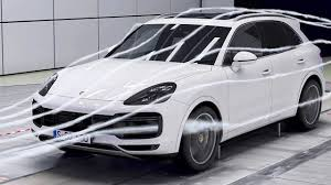 porsche cayenne 2018 aerodynamics youtube