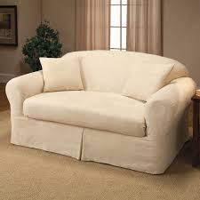 Slipcovers For Reclining Sofas by Decorations Surefit Slipcovers Loveseat Sofa Slip Covers