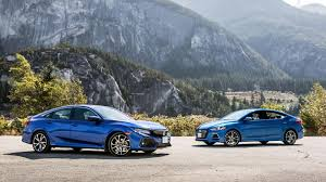 nissan sentra vs honda civic 2017 honda civic si sedan vs 2017 hyundai elantra sport comparison