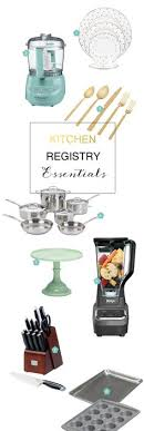 wedding registry for tools the essential wedding registry list for your kitchen essentials