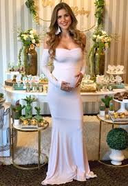 sleeve baby shower gown maternity