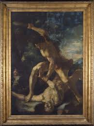 camassei u0027s cain and abel the patrons of the arts in the vatican