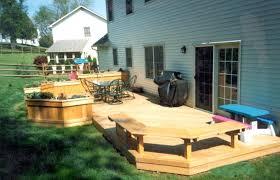 Backyard Deck Ideas Photos Creative Awesome Deck Ideas Images Backyard Deck Ideas For
