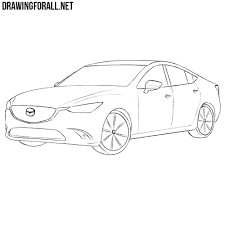 pagani drawing how to draw a mazda 6 drawingforall net