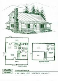 stylist and luxury cabin house plans with a loft 9 small plan with