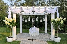 pergola design wonderful build your own wedding arbor greenery