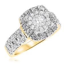 2 1 2 ct t w ladies engagement ring wedding band men u0027s