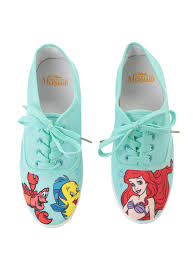 Little Mermaid Toddler Bedding Disney The Little Mermaid Mint Character Lace Up Sneakers Topic
