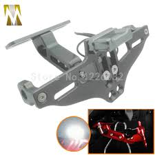 exes license plate frame motorcycle adjustable angle license number plate frame holder