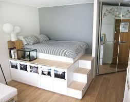 Closet Bed Frame Built In Storage For Platform Bed Frame For Bedroom