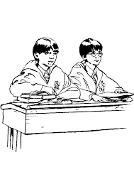 coloring page harry potter coloring pages 27