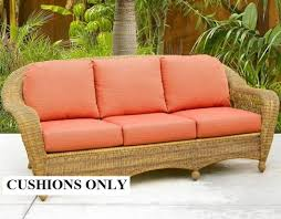 Replacement Cushions For Patio Chairs Wicker Cushions Wicker Furniture Replacement Cushions