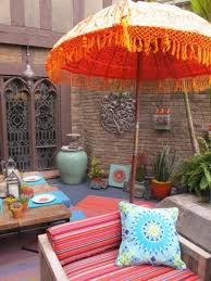 Tropical Patio Design Attractive Look For The Outdoor Patio Kitchen Umbrella Best Patio