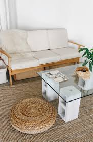 diy 100 glass and concrete coffee table remodelista cement for