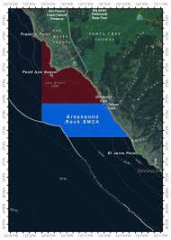 Cambria Ca Map Central California Marine Protected Areas