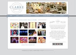 Wedding Planner Websites Emily Clarke Events U0027 New Brand Identity And Website Doodle Dog