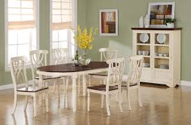 Black And White Dining Room Chairs Beautiful Off White Dining Room Set Contemporary Home Design