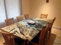 granite top island kitchen table black granite dining table fau marble top table surripui