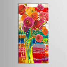 Flowers In Vases Images Aliexpress Com Buy Hand Painted Modern Abstract Decorative