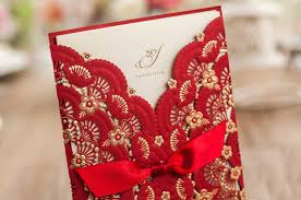 Laser Cut Invitation Cards Free Personalized Red Wedding Invitation Cards Unique Laser Cut