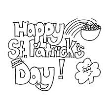 top 25 free printable st patrick u0027s day coloring pages online