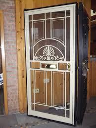 Residential Security Doors Exterior Steel Security Doors Chicago Brick Repair Nombach