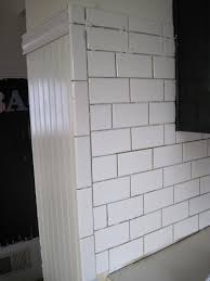 white ceramic subway tile backsplash fascinating history white