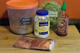 sriracha mayo candied bacon blt with sriracha mayo the kitchen wife