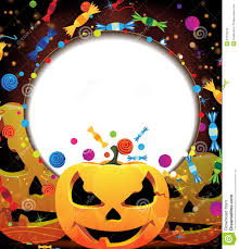 smiling jack o lanterns halloween background royalty free stock