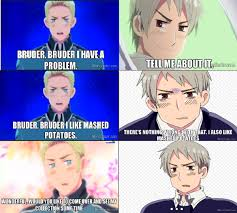 Mashed Potatoes Meme - mashed potatoes hetalia by yenbeilschmidt on deviantart