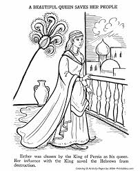 ester saves her people old testament coloring pages bible