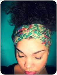 10 natural head wrap styles that can be done in 10 minutes or less