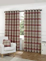 Checkered Curtains by Red Check Curtains Great Value Curtains Terrys Fabrics