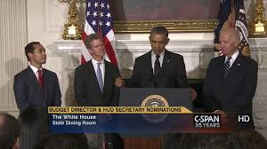 Obama Cabinet Members 2008 President Announces Omb Hud Nominees May 23 2014 Video C Span Org