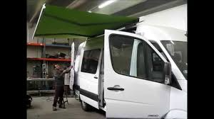 Dometic Awning Manual Sprinter Manual Awning Demonstration Youtube