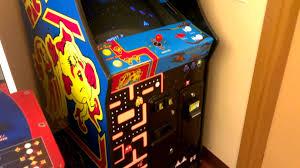 Galaga Arcade Cabinet Golden Tee U0026 Ms Pac Man Galaga Class Of 1981 Edition Arcade