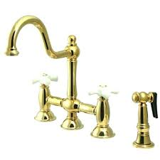 Gooseneck Kitchen Faucet Polished Brass Kitchen Faucet U2013 Songwriting Co